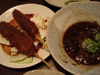 20090612 味噌カツ&牛スジ土手煮.JPG