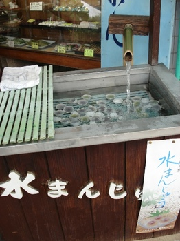20090613 大垣 金蝶園饅頭 水まんじゅう1.JPG