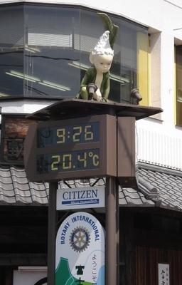 20100517 3河口湖駅 与勇輝人形.JPG