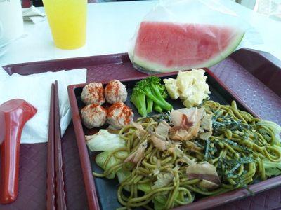 20111115 11昼食ツナ茶そば.JPG