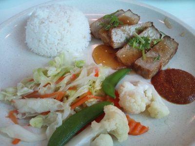 20111116 12昼食RoastDuck&Veg.JPG